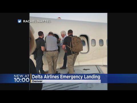 Delta Flight Makes Emergency Landing In Denver