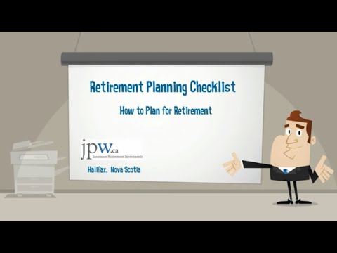 Retirement Planning Checklist - How to Plan for Retirement