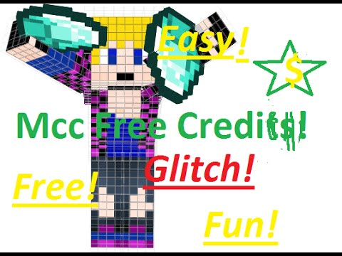 MineCraft Central Glitch! How To Get Free Credits! Plus Blooper!