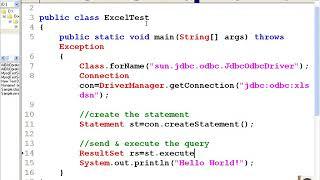Reading Excel data and store in database   Java programming - PakVim