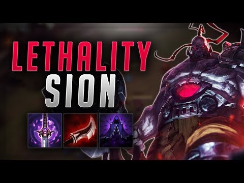 SION LETHALITY BUILD OP 7.14