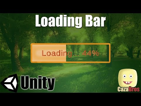 How to create a Loading Bar in Unity