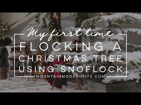 Flocking a Christmas Tree with SnoFlock