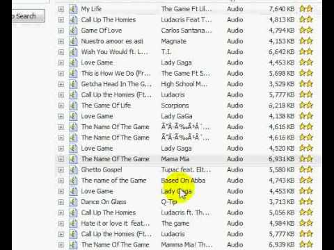 How to download songs on ares and locate them