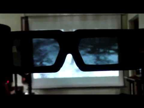 Benq 3d Projector Test With Avatar