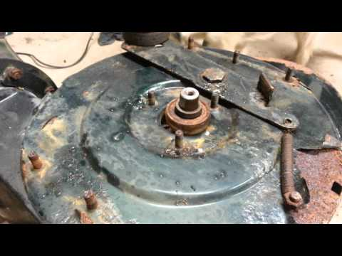 YTD-Yardworks Snowblower Impeller removal Part 1