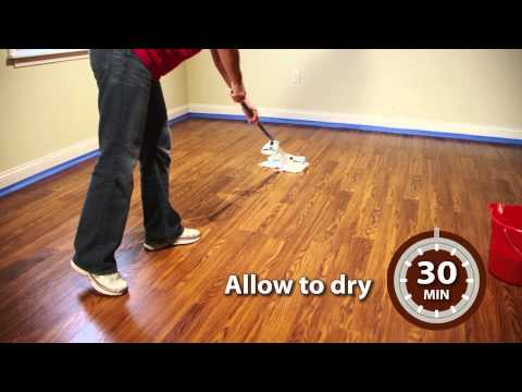 Rust-Oleum Wood FloorTransformations - Application Video