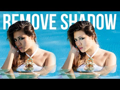 How to Fix and Remove Harsh Shadows from Face in Photoshop