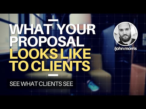 JMS305: What Your Upwork Proposal Looks Like to a Client