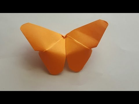 How to make a paper butterfly easy