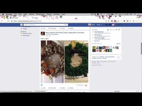 Facebook Marketing: Interact As Your Page with Other Pages (Facebook Business Page)
