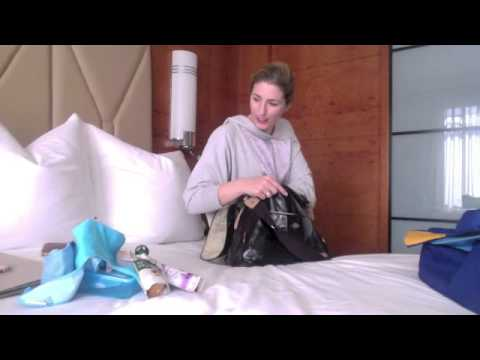 How to pack your nappy/diaper bag when flying with babies or toddlers