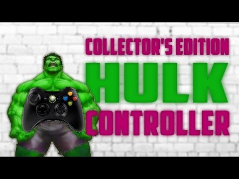 HULK SMASH! Xbox 360 Controller (PDP)