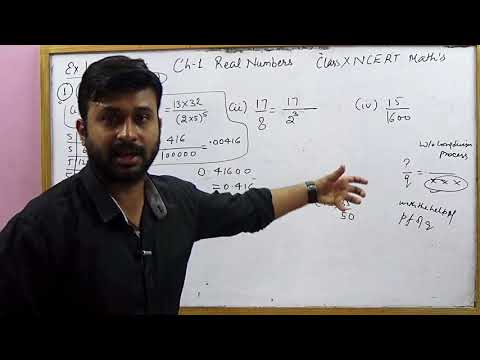 Rational Numbers & their decimal expansion | CBSE 10 Math's NCERT Ex 1.4 Intro & sol (Part 2)