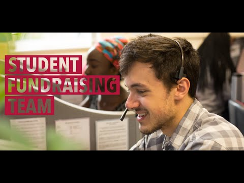 Student Fundraising Team - Find out more