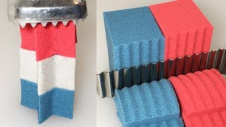 Download Very Satisfying Kinetic Sand Cutting Compilation #22 | ASMR Video
