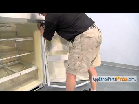 Refrigerator Fresh Food Door Gasket (part #WR24X446) - How To Replace