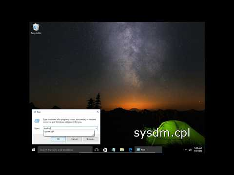 How to change a computer name Windows 10