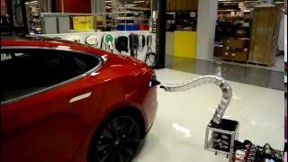 Tesla Self Charging Station
