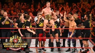 WWE United Kingdom Champion Tyler Bate celebrates his historic victory: Exclusive, Jan. 15, 2016