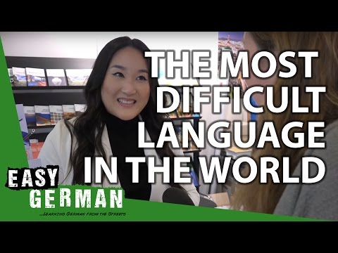 The most difficult language in the world | Easy German 117