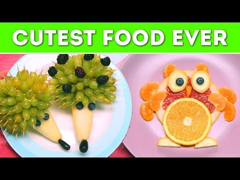 Simple and Cute Food Art! Tutorial On How To Serve and Decorate Food For Kids! | A+ hacks