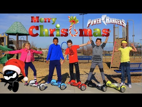 Power Rangers Ninja Kidz Christmas!