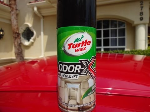 Turtle Wax Odor X Whole Car Blast Review and Test on my Nissan GTR