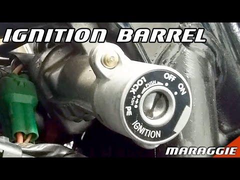 Suzuki Intruder Volusia - ignition barrel replacement overview