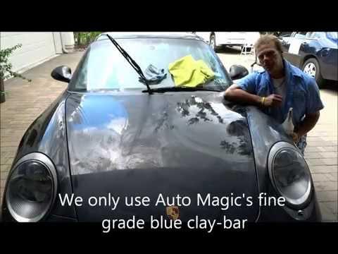 Spray Paint Overspray Removal Porsche 911 Carrera S