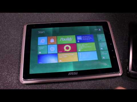 Windows 8 Developer Preview on AMD Fusion tablets (1080p)
