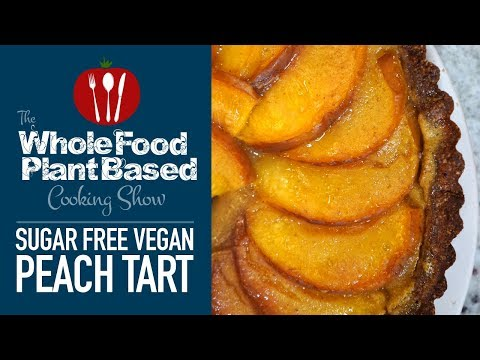 Xxx Mp4 Easy Sugar Free Vegan Peach Tart 3gp Sex