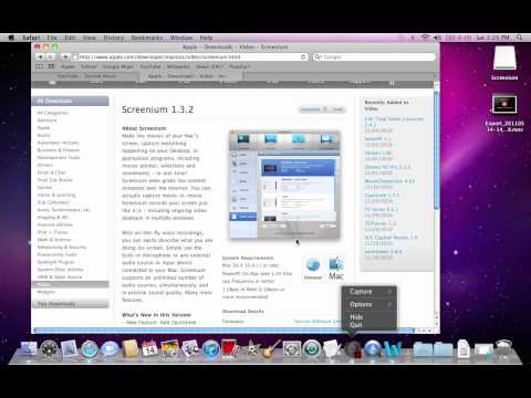 how to record screen for mac