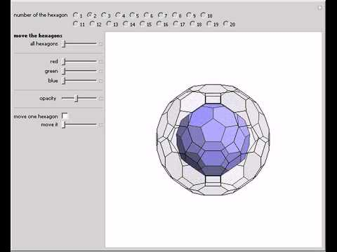 Truncated Icosahedron to Great Rhombicosidodecahedron