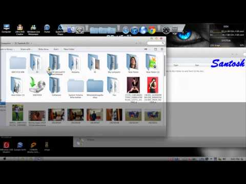 How to burn CD DVD without any program,Windows  7