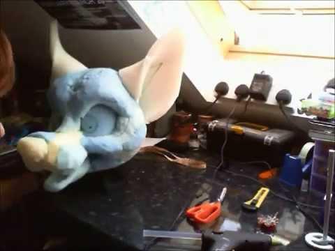 Fursuit Head Tutorial - Time Lapse - Part 1 - Sculpting