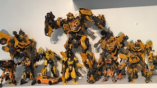 PrimeVsPrime's Entire Transformers Movie Universe Bumblebee Collection Video (September 2017)