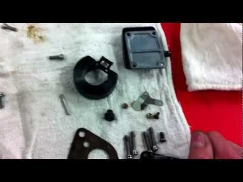 2 stroke outboard mercury carburator clean
