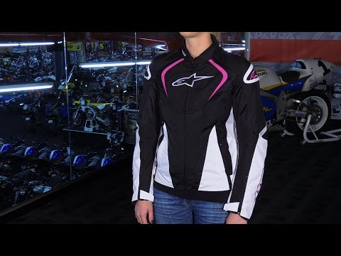 Alpinestars Stella T-Jaws Air Vented Womens Textile Motorcycle Jacket Review