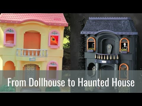 Cheap Halloween Decorations - From Dollhouse to Haunted House