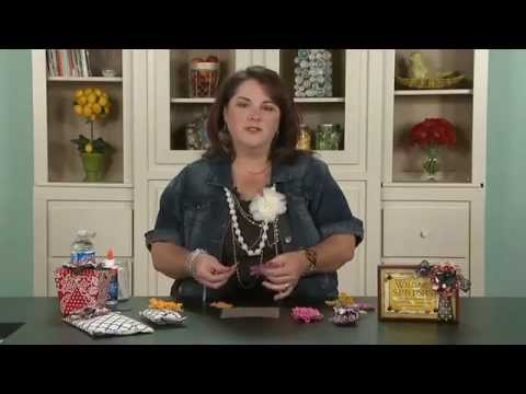 My Craft Channel: Tip of the Day - Stiff Fabric Flowers (Lori Allred)