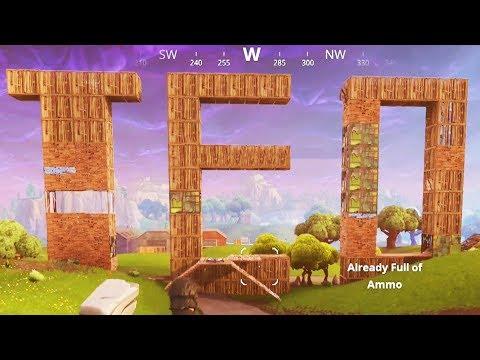Building Teo in Fortnite