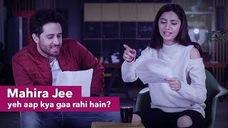 Famous Pakistani Songs with Google Translate | Mahira & Haroon | Patari Funkariyaan