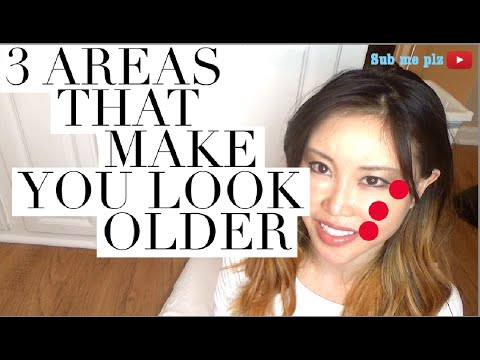 3 Areas That Make You Look Older, Eyes, Cheeks and Mouth Corners