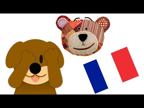 Riddle for Kids to Learn the Animals in French - Guess who is hiding