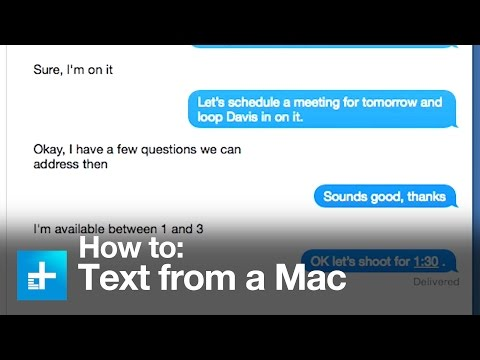 How to send text messages and make phone calls with Mac OS X Yosemite