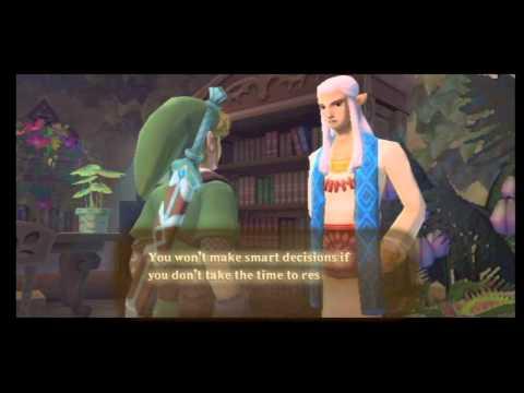 [26]The Legend Of Zelda: Skyward Sword Playthrough - How to make rupees