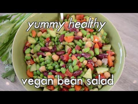 Easy Bean Vegan Salad Recipe