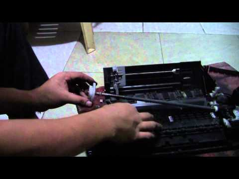 Replace or clean the wastepad: Epson  T13, T13x, t22e,  n11