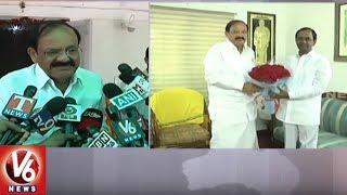 CM KCR Meets NDA